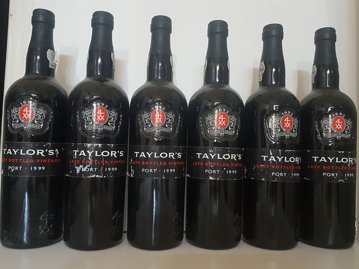 1999 Taylor's Late Bottled Vintage Port - 6 Bottles (0.75L)