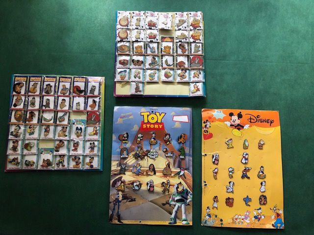 100 Disney Pins (veel in ovp) (100) - ijzer, email