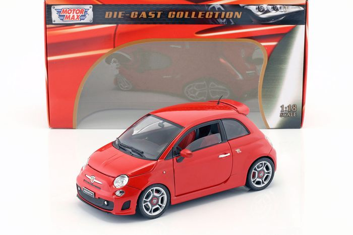 Motormax - 1:18 - Abarth 500 - Die-Cast Collection