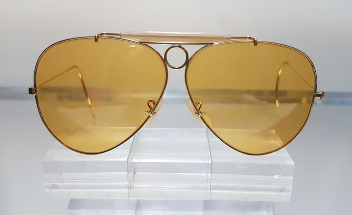 Bausch and Lomb Ray Ban Usa Shooter Ambermatic Sunglasses Catawiki