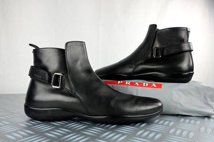 Prada - Calfleather  Stivali - Taglia: EU 40  UK 6