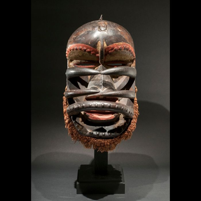 Mask - Wood - Spider Mask - Guere We - Ivory Coast