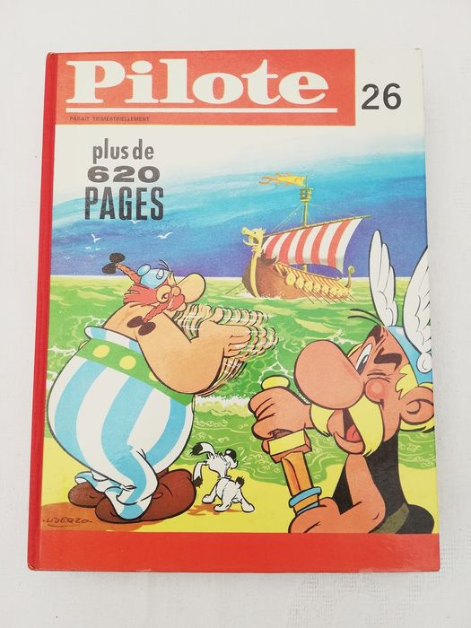 Pilote - Reliure éditeur n° 26 - Hardcover - First edition - (1966)