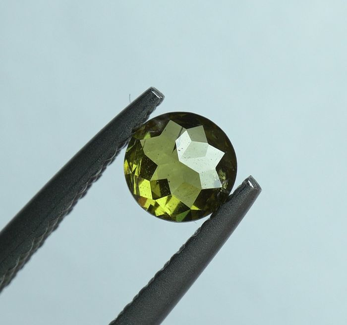 3 pcs Diamants - 1.00 ct - poids total - Round Rose Cut - fancy greenish brown - SI2- No Reserve