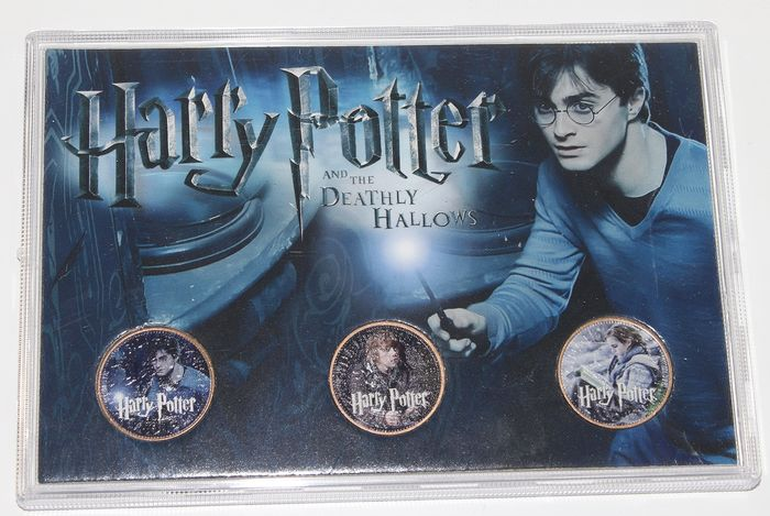 Harry Potter - Rency by Banksy - Complete collectie 3 Half Pennies