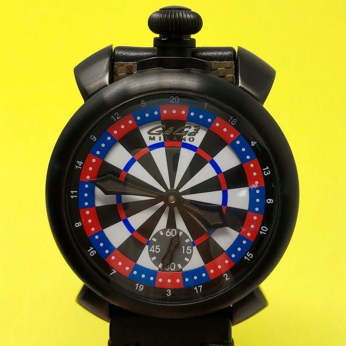 "GaGà Milano - Manuale 48MM Darts Las Vegas LIMITED EDITION Swiss Made - 5012LV03 ""NO RESERVE PRICE"" - Men - BRAND NEW"