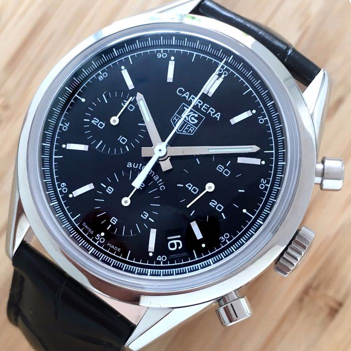 TAG Heuer - Carrera Re-Edition Chronograph  - cv2111-0  - Heren - 2011-heden