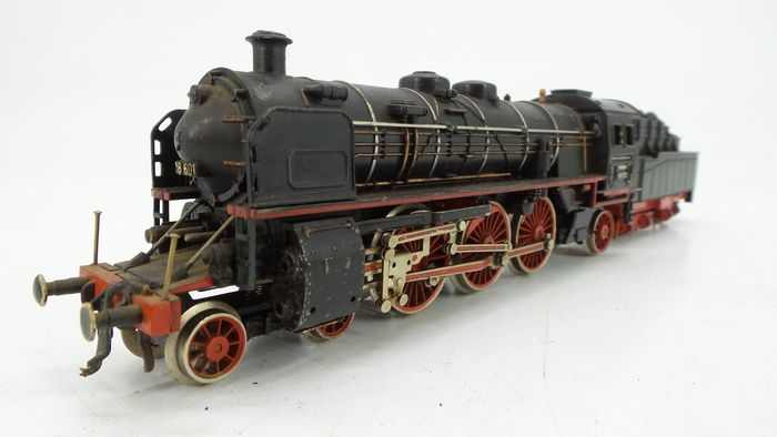 Trix International H0 - 2407 - Stoomlocomotief met tender - BR 18.6 - DRG