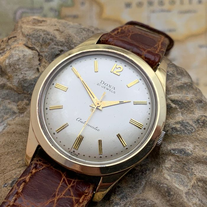 "Doxa - 'gold-capped' - ""NO RESERVE PRICE"" - Herren - 1960s"