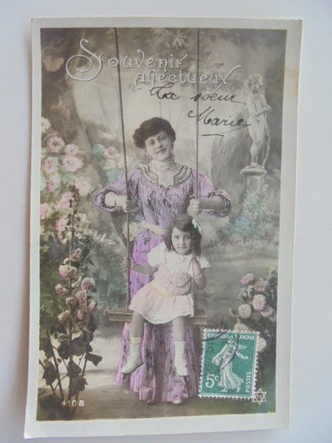 Fantasy, The woman and the child - Postcards (Collection of 160) - 1900-1920