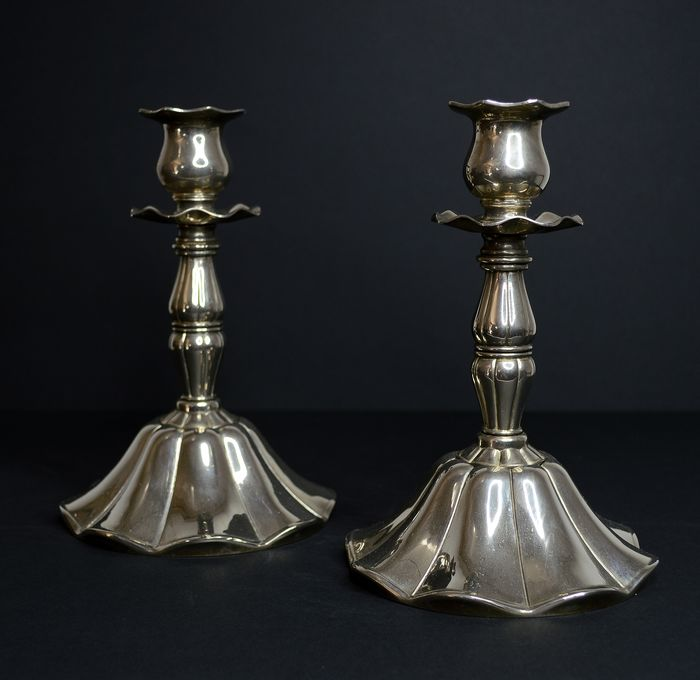 Candelabrum (2) - Art Nouveau - Silverplate