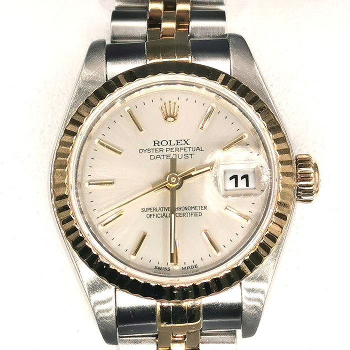 Rolex -  Oyster Perpetual Date just - 79173 - Women - 2000-2010