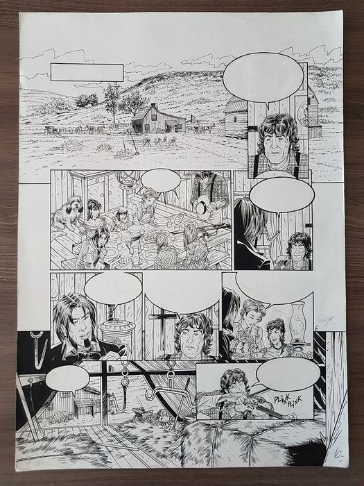 Hauteville House - Original page from part 12: De put van Jacob - Thierry Gioux -