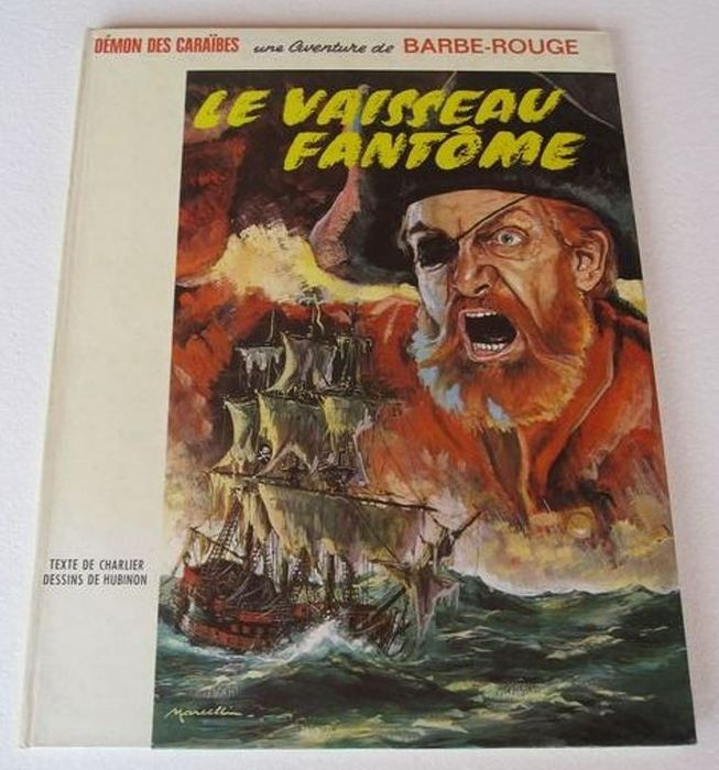 Barbe Rouge T6 - Le vaisseau fantôme - Hardcover - First edition - (1966)