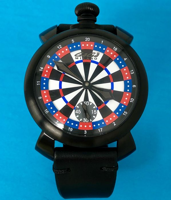 "GaGà Milano - Manuale 48MM Darts Las Vegas LIMITED EDITION - 5012LV03 ""NO RESERVE PRICE"" - Unisex - BRAND NEW"