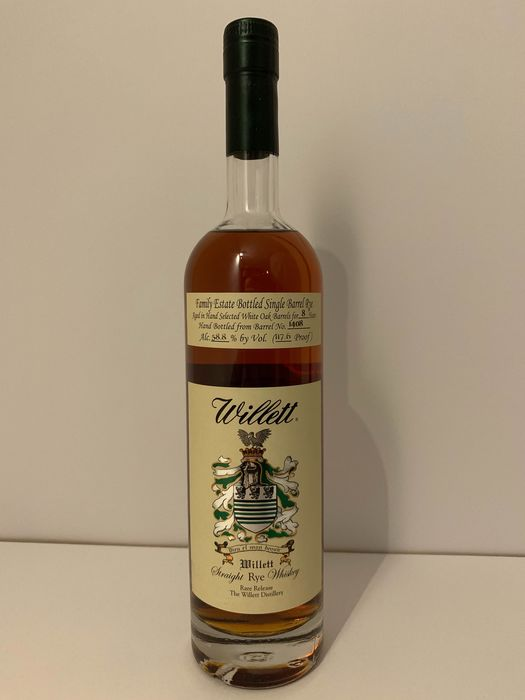 Willett 8 years old Single Barrel Rye - 750ml