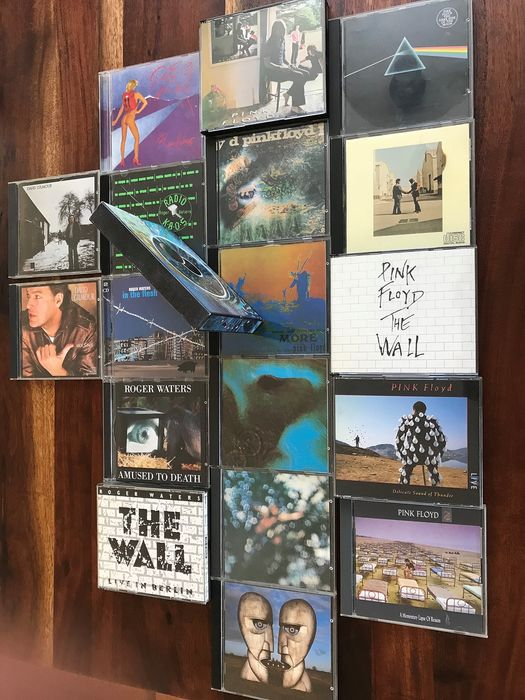 David Gilmour, Pink Floyd, Roger Waters - Multiple artists - Multiple titles - CD Box set, CD's - 1968/1994