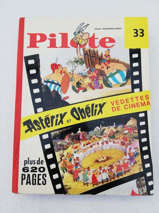 Pilote - Reliure éditeur n°33 - Hardcover - First edition - (1967/1968)