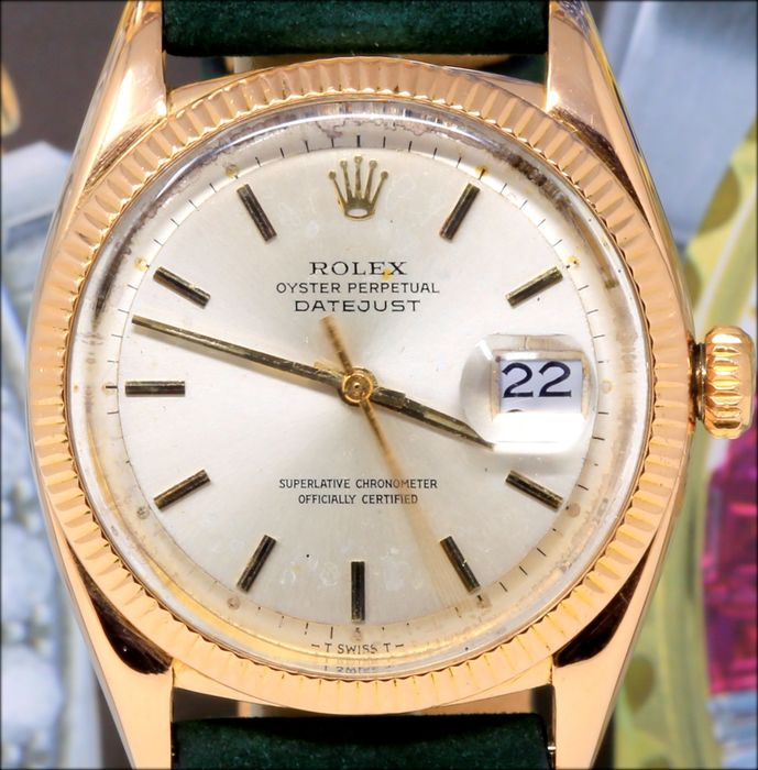 Rolex - Oyster Perpetual Date Ref. 6605  - Hombre - 1960-1969