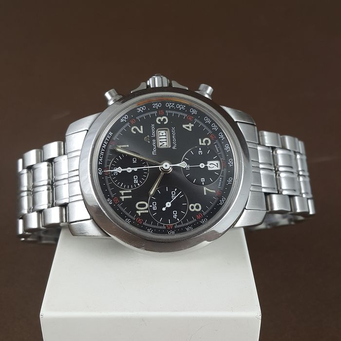 Maurice Lacroix - Automatic Chronograph - 39721 - Heren - 2000-2010