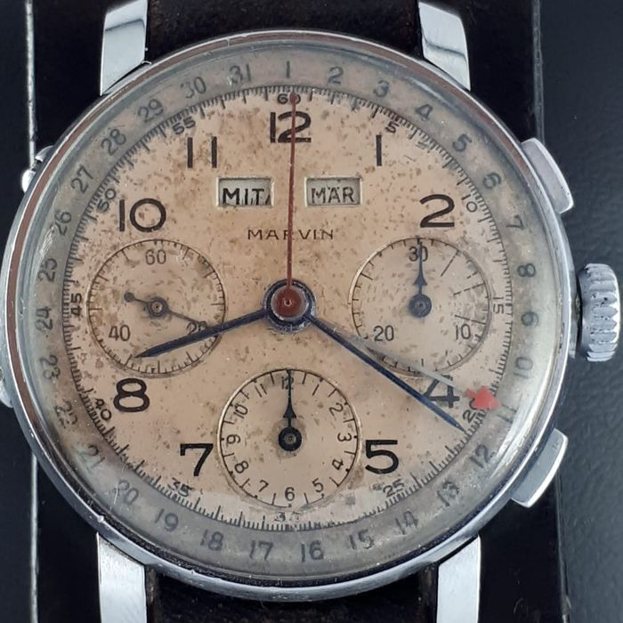 MARVIN - Vintage Chronograph Triple Date  - Men - 1960-1969