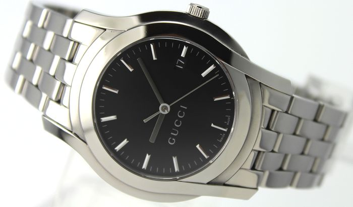 """Gucci - """"NO RESERVE PRICE"""" Swiss Made  - 5500 XL Excellent Condition - Heren - 2011-heden"""