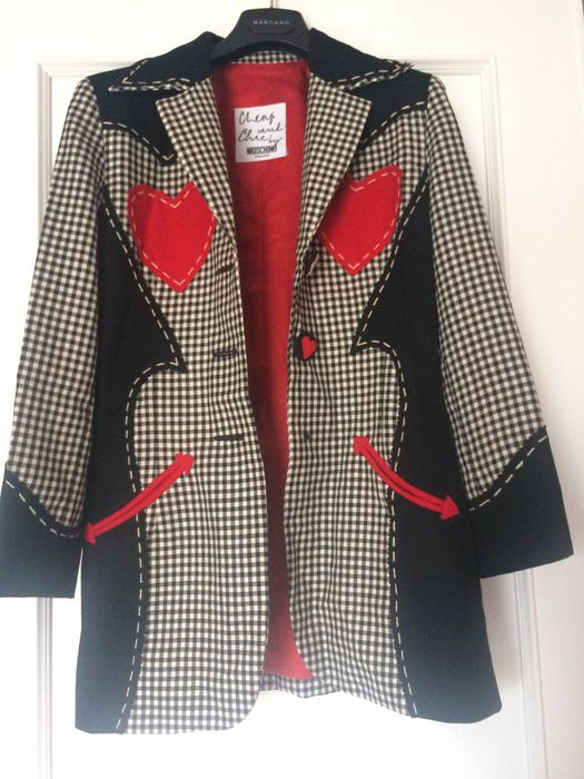 Moschino - Jacket - Size: EU 36 (IT 40 - ES/FR 36 - DE/NL 34)