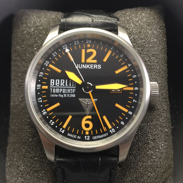"Junkers - Berlin Tempelhof 1909-2008 Limited Edition 243/5000 ""NO RESERVE PRICE"" - Uomo - 2000-2010"
