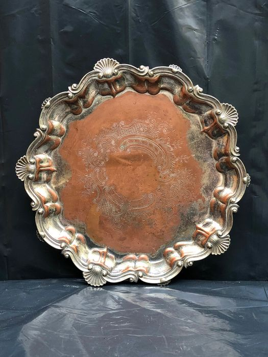 Walker and Hall Ltd - Tray - Silverplate