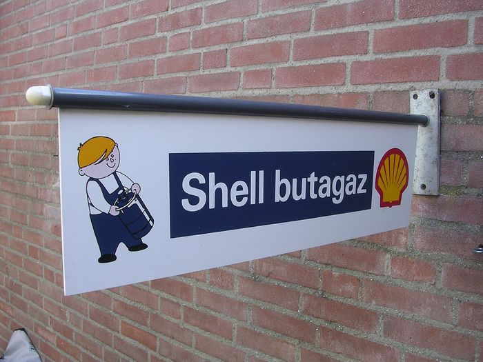 Shell Advertising signboard (1) - Metal - Plastic