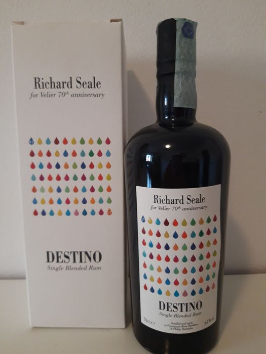 Foursquare 14 years old Velier - Destino - Richard Seale - 70th Anniversary - 70cl