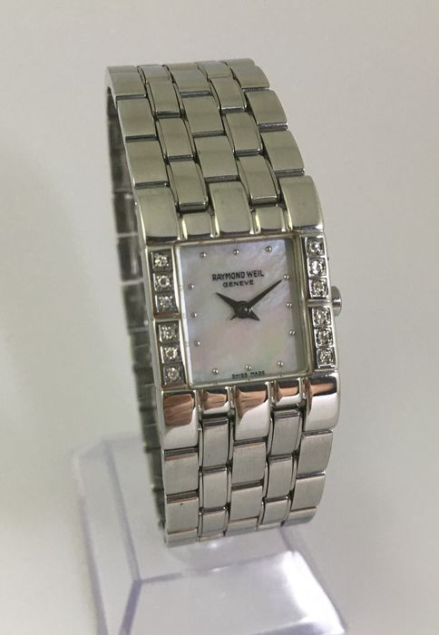 Raymond Weil - Diamonds and Mother of Pearl Edition - 5887/1D - Women - 2011-present
