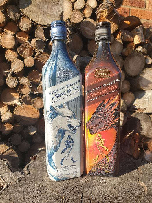 Johnnie Walker Game of Thrones - A Song of Fire & A Song of Ice - 0.7 Ltr - 2 bottles
