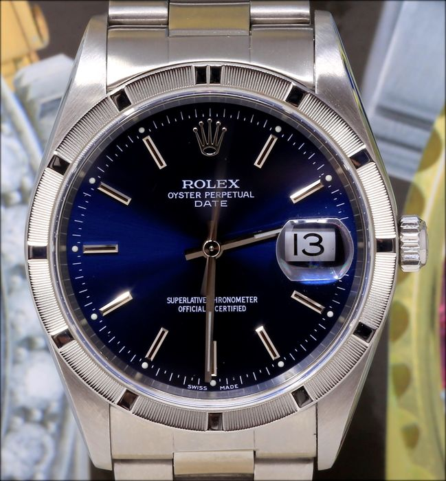 Rolex - Oyster Perpetual Date -  15210  - Unisex - 2000-2010
