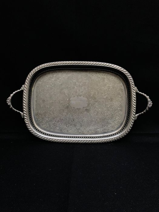 Tray - Silverplate