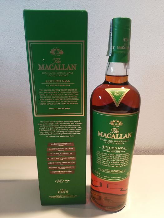 Macallan Edition 4 - Limited Edition - 70cl