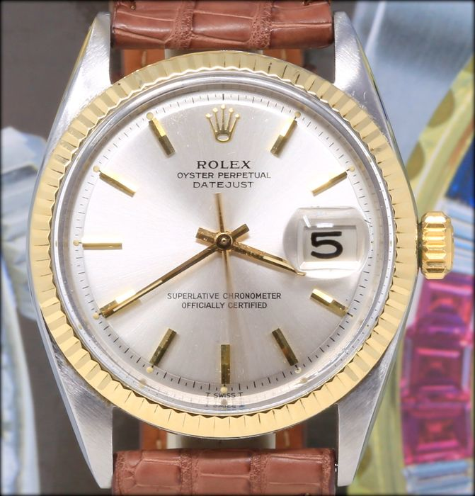Rolex - Oyster Perpetual Datejust - 1600 - Homme - 1970-1979