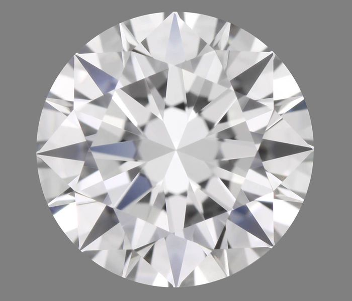 1 pcs Diamant - 0.23 ct - Brillant - D (farblos) - IF (makellos)