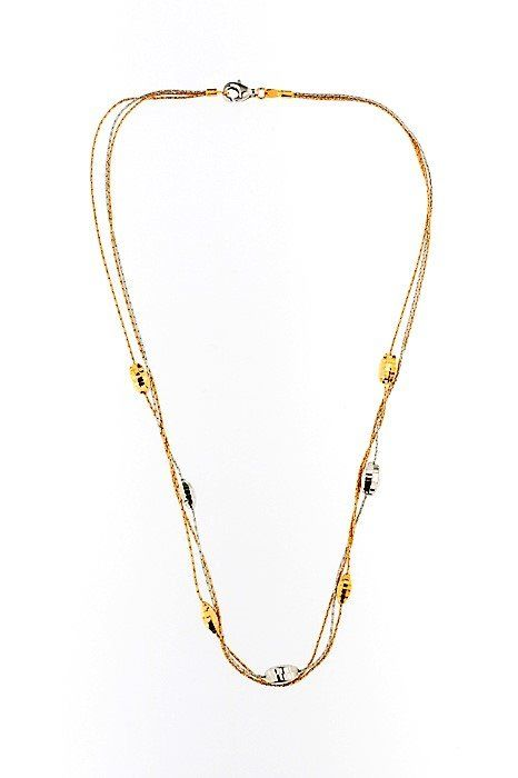 Made in Italy - 18 kt. White gold, Yellow gold - Necklace