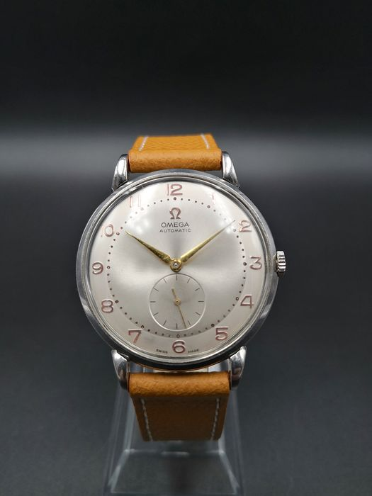 "Omega - Automatic Oversize 37,68mm - ""NO RESERVE PRICE""  - Men - 1950-1959"