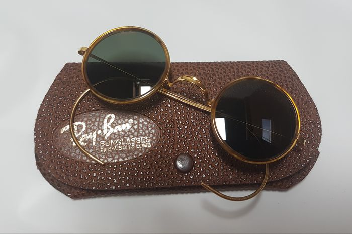 Bausch and Lomb Ray Ban Usa  - Cheyenne 1 Spotted Tortoise - G15 - W1750 - John Lennon style sunglasses