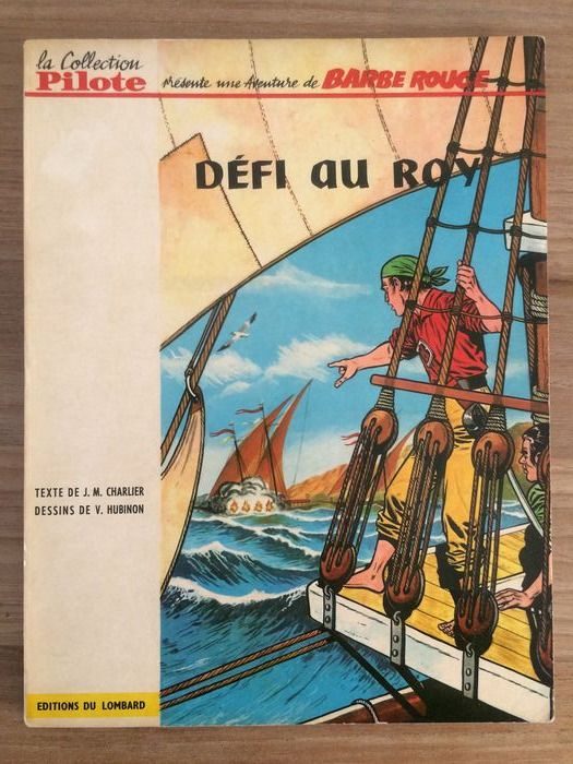 Barbe Rouge T4 - Défi au Roy - B - EO belge - First edition - (1964)