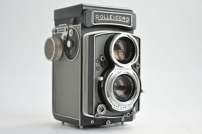 Rollei Rolleicord VB  type 1 (German Police edition; RARE) no 2610281