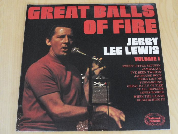 Jerry Lee Lewis, Roy Orbinson, Freddy Cannon and great others - Multiple artists - Rock & Roll - Multiple titles - CD's, LP's - 1974/2007