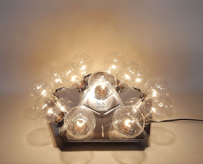 Achille Castiglioni - Flos - Ceiling lamp, Wall lamp - Taraxacum 88 C/W WITH LIGHTBULBS!