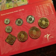 Suriname Coin Set 2011 with 1-5-10-25-100-250 Cent Mintage 1.000 x