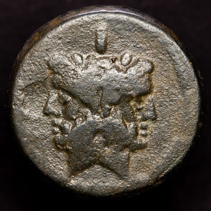 Romeinse Republiek - As - Anonymous, minted in Rome after 211 B.C. - Prow of galley ( 32.70  g) - Brons