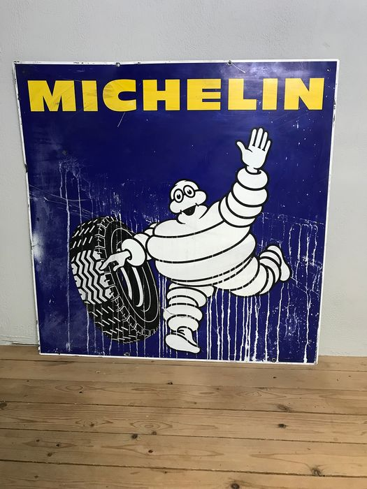 Michelin Blechplatte - Michelin - 1950