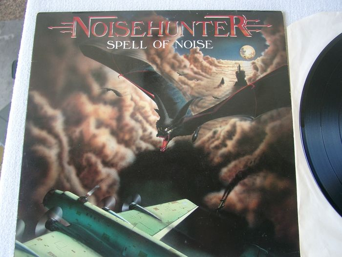 Noisehunter - Spell Of Noise / Time To Fight - Multiple titles - LP's - 1986/1988