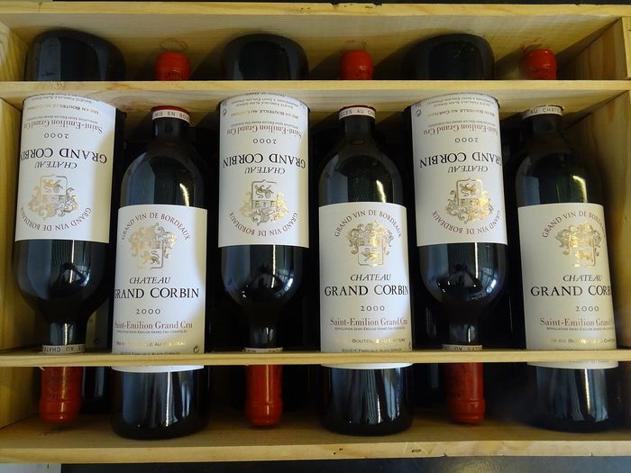 2000 Chateau Grand Corbin in OWB - Saint-Emilion Grand Cru - 12 Bottles (0.75L)